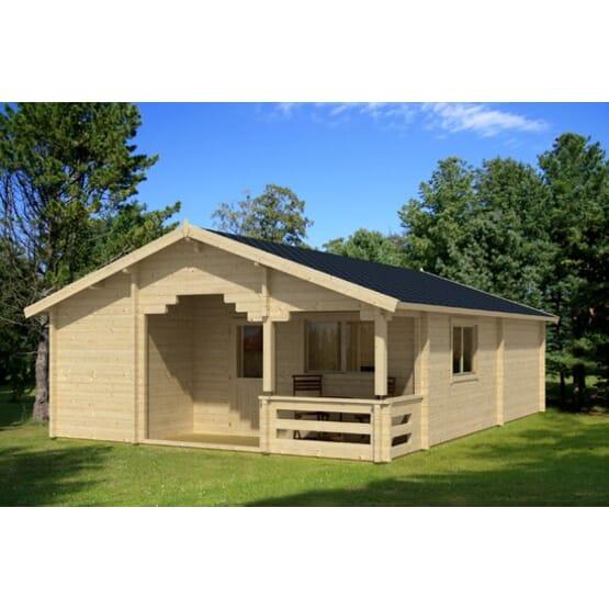abri de jardin indus 70mm surface 52 38m. Black Bedroom Furniture Sets. Home Design Ideas