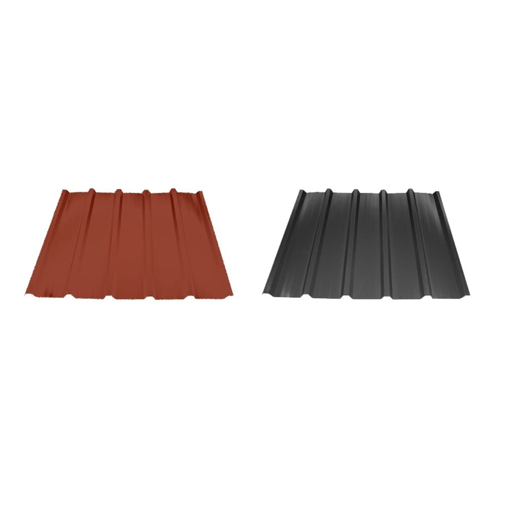 kit bac acier plat rouge ou gris anthracite pour garage brisbane 44. Black Bedroom Furniture Sets. Home Design Ideas